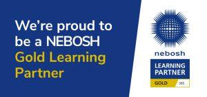 nebosh gold logo banner